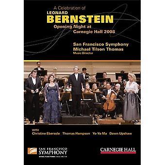 L. Bernstein - fejring af Leonard Bernstein-premieren på [DVD] USA import