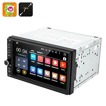 Android 6.0.1 Auto Stereo - 2 DIN 7 Zoll Touchscreen, Bluetooth, GPS, Radio, universelle Montage, 4 x 45 Watt Leistung