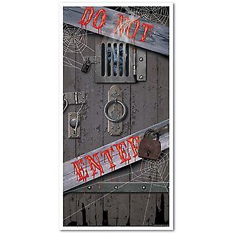 Spooky Halloween puerta cubrir 30