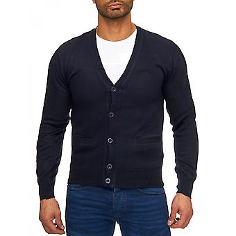 Men's V Neck Cardigan neckline Cardigan Sweater elegance