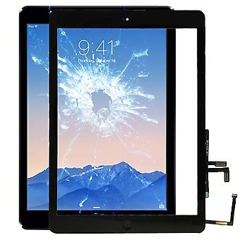 Apple iPad air display display glass touch screen + Home button disc black