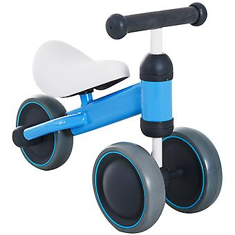 HOMCOM Kinder Baby Kleinkind Dreirad 3 Rad Ride-on BIke Trike Balance Training blau