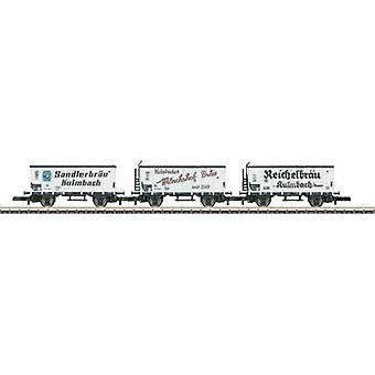 Märklin 86395 Märklin 86395 Z DB Brewery Freight Wagon Set (3 pcs)