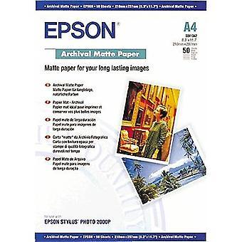 Photo paper Epson Archival Matte Paper C13S041342 A4