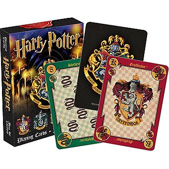 Harry Potter Crests Set Of 52 Playing Cards (+ Jokers) (52357)