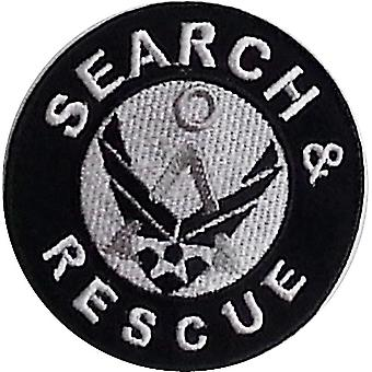 Search & Rescue Iron-On / Sew On Cloth Patch