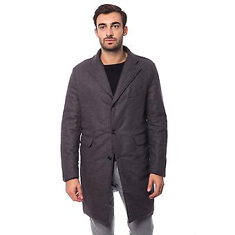 Coat Brown Lavagna Trussardi Collection Man