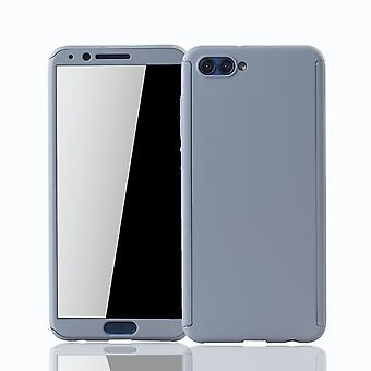 Huawei honor view 10 mobile case protection case full-cover protection glass grey tank