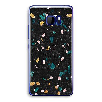 HTC U Ultra Transparent Case (Soft) - Terrazzo N°10