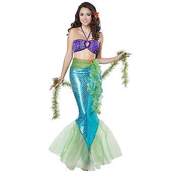 Mítica princesa sirena Ariel historia de cuento de hadas libro semana Womens traje