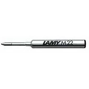 Lamy M 22 Fine Compact Ballpoint Pen Refill - Blue