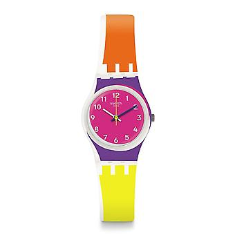 Swatch Lw165 Sun Through Multi Colour Silicone Watch