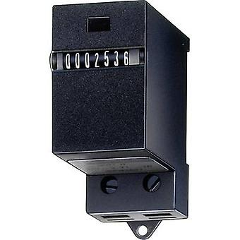 Kübler SK 07.1 24 V/DC Totalling counter for DIN rail mounting type SK07.1 7-digit Assembly dimensions (H x W) 58 mm x 30 mm