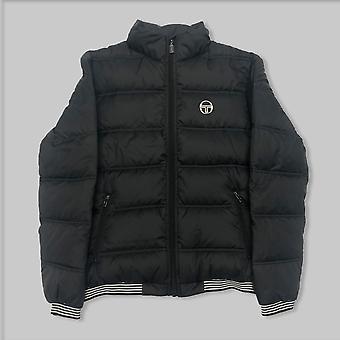 Sergio Tacchini Slice Puffa Jacket Black