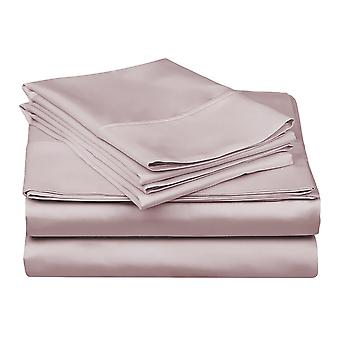 1200 Tc-100% Egyptian Cotton Bed Sheet Set- Lilac