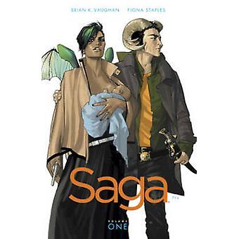 Saga - Volume 1 by Brian K. Vaughan - Fiona Staples - 9781607066019 Bo