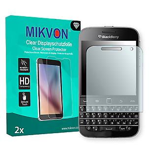 Blackberry Classic Non Camera Screen Protector - Mikvon Clear (Retail Package with accessories)