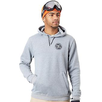 DC Neutral grå Heather Snowstar snowboard Hoody
