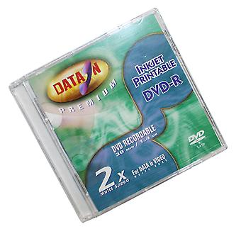 Data-On 8cm Mini (Jewel Case) DVD-R Blank Disc (2X Write) 1.4GB Inkjet Printable Camcorder Single