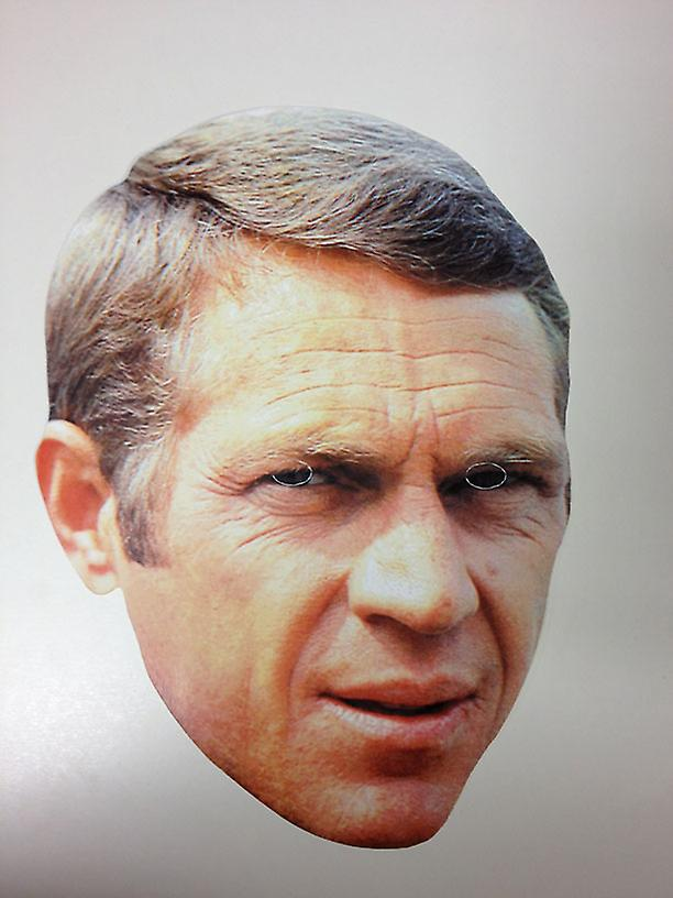Steve McQueen Card Face Mask