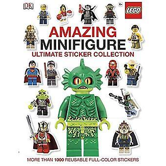 Minifigura increíble: Etiqueta engomada de la última colección (Lego)