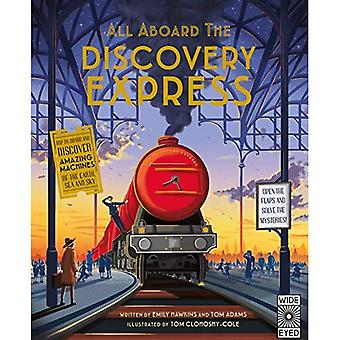 All Aboard The Discovery Express: Open the Flaps and Solve the Mysteries - All Aboard