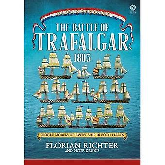 The Battle of Trafalgar 1805:�Every Ship in Both Fleets in�Profile (Fleets in Profile)