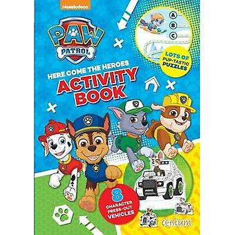 Paw Patrol Press-Out Activity Book
