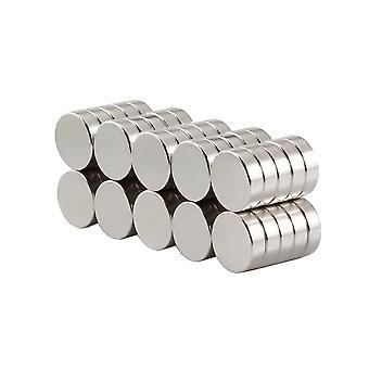 Neodymium magneten | Praktische | Extra sterke schijf magneet. Fridge Magnet | Sterke magneten voor thuis | 10 stuk | 10 x 3 mm
