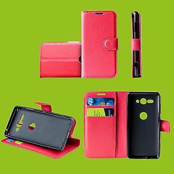 Samsung Galaxy S10e G970F 5,8 tommen lomme lommebok premie red beskyttelse ermet coveret pose nytt tilbehør