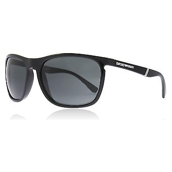 Emporio Armani EA4107 501787 Black EA4107 Round Sunglasses Lens Category 3 Size 59mm