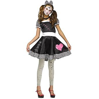 Broken Doll tonåring kostym