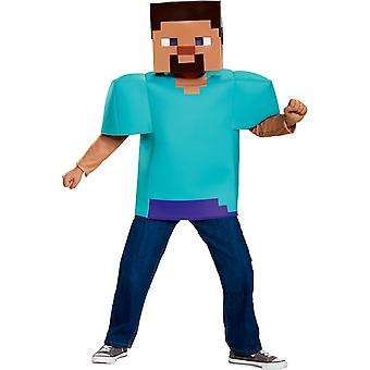Niño traje de Minecraft Steve