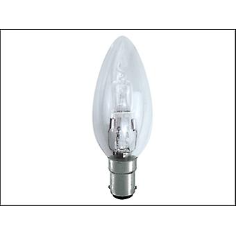 Eveready Lighting Candle ECO Halogen 42 Watt (54 Watt) SBC/B15 Small Bayonet Cap Box of 1