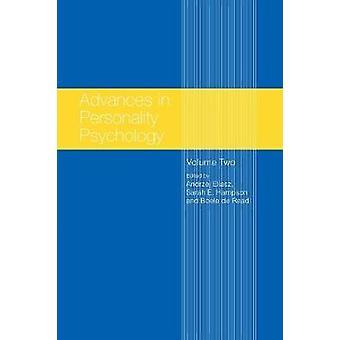 Framsteg inom personlighet psykologi volym II av Eliasz & Andrzej