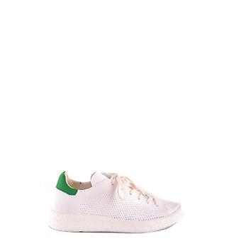 Adidas White Fabric Sneakers