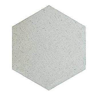 Continuación 4'' hexagonal inacabado contorno regla de acero muere (SR-087)