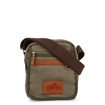 Carrera Jeans Richard Men Green Crossbody Bags -- RICH039088