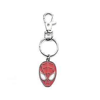 Stainless Steel Spider-Man Mask Keyring