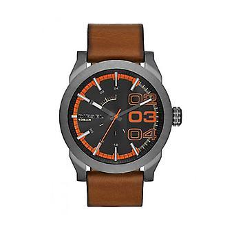 Diesel Brown Double Down 46 Watch DZ1680