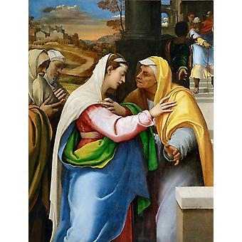Visitacion, Sebastiano del Piombo, 50x38cm