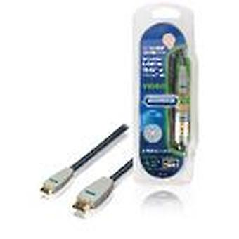 Bandridge High Speed HDMI Cable with Ethernet HDMI Connector - HDMI mini Male 2.00 m Blue BVL1902