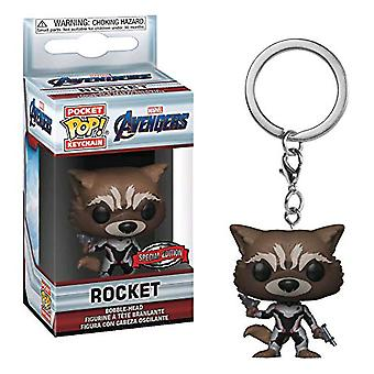 Avengers 4 Endgame Rocket US Exclusive Pocket Pop! Keychain