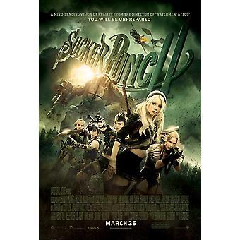 Sucker Punch Poster doppelseitig regelmäßig (2011) Original Kino Poster