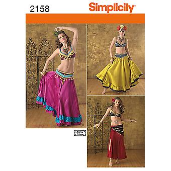 Simplicity Crafts Costumes 6 8 10 12 U02158hh