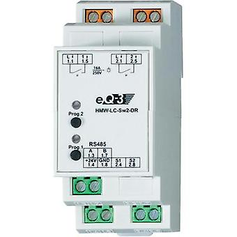 HomeMatic RS485 switching actuator 76801 2-channel DIN rail 3680 W