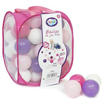 Ludi Bag balls roses (Toys , Preschool , Babies , Early Childhood Toys)
