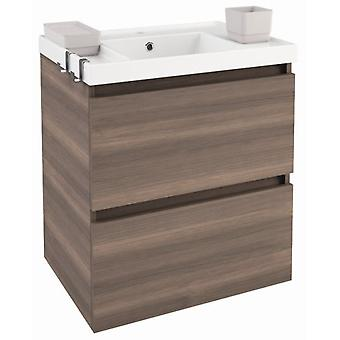 Bath+ Sink cabinet 2 drawers Fresno Brightness 60CM
