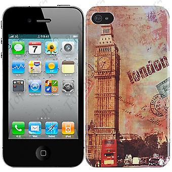 IPhone cover 4/4S-London (Big Ben)