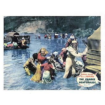 A carga da brigada ligeira Errol Flynn 1936 Movie Poster Masterprint